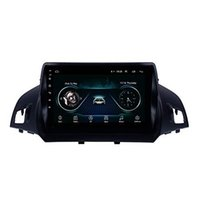 araba ford radyo navigasyon toptan satış-Android 9.0 9 inç 4 Ford için Çekirdekli HD Oto Radyo Araç GPS Navigasyon Tam Dokunmatik 2013-2016 Carplay Destek Kaçış