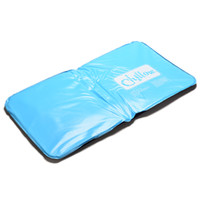 ледяная круглая подушка оптовых-1Pc Ice Cold Pillow Cool Gel Hypoalergentic Non-toxic Aid Pad Muscle Relief Sleeping Mat Travel Pillows Neck Water Blue