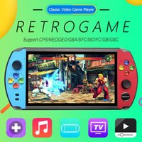 Wholesale video games player for kids resale online - X19 Retro Handheld Game Player GB GB quot LCD Color Screen Video Game Console For Nostalgic Player Kids Child Gift