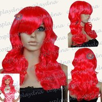 ingrosso kids wigs-Fragole Dolcecuore Parrucche Cosplay Bambini Bambini Halloween Parrucche Toddlers to Teans