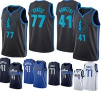2019 Mens 77  Luka Doncic  1 Dennis Smith Jr  41 Dirk Nowitzki Jersey  Stitched College mixed 41353e771