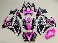 Wholesale black pink r1 fairings resale online - New Injection Mold ABS Motorcycle Fairing Kit For YAMAHA R3 R25 fairing motorcycle parts Custom black Pink