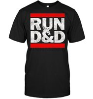 Wholesale rpg games for sale - Group buy Brand Run Dnd Dungeon Game Tabletop Rpg Summer Men Short Sleeve T Shirt