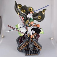 ingrosso ver anime-Anime One Piece Land Of Wano Country Roronoa Zoro Ver. PVC Action Figure Collection Model Toys