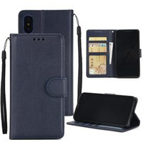 Wholesale lg leather cell phone cases for sale – best For iPhone Xs Max Xr S10 Lite Plus Wallet Case Luxury PU Leather Cell Phone Back Case Cover with Credit Card Slots
