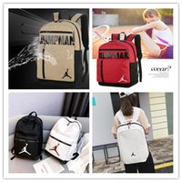 Wholesale designer backpacks for resale online - New Quality Students Backpack air jordam Player Fashion Designer JORDAM aj Backpacks For man women youth Luxury Double Shoulder Bags