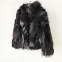 пальто с капюшоном для женщин оптовых-2019 Real Fur Coat Genuine 100%  Fur Jacket with Hood Women New Clothes Wholesale Retail Price tsr628