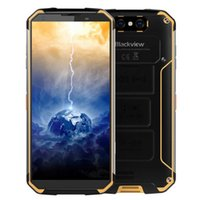 robustes smartphone zoll großhandel-BLACKVIEW BV9500 5,7 Zoll 4 GB 64 GB ROM Helio P23 MTK6763T 2,5 GHz Dual Camera Android 8.1 IP68 Wasserdichtes, robustes 4 G LTE-Smartphone