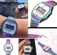 ingrosso orologi più recenti-CASEO Novità delle donne di moda orologi Reloj Relógio LED elettronico orologio da donna in acciaio inossidabile cinturino cinturino Hot commercio orologi da polso da donna