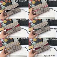 bolsos de serpiente al por mayor-2019 clásico nuevo diseñador de piel de serpiente bolso en relieve bolso de la cadena de la cadena Messenger bag diseñador de la marca Messenger bag one principal