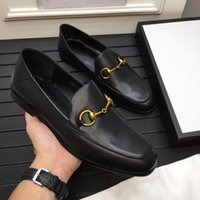 Wholesale luxury brands designer formal shoes resale online - 2019 Top Quality brand Formal Dress Shoes Luxury For Gentle Men The wedding Genuine Leather Shoes Pointed Toe designer Men s Business shoes