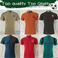 Wholesale men polo wears for sale - Group buy New Arrive Ajax Soccer Polo Shirt Ajax Khaki Casual Wear Roma Black POLO Training Uniforms Drop Shipping