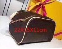 ingrosso sacchetti di trucco-Le borse cosmetiche delle donne che viaggiano la borsa della toilette progettano le donne che lavano il sacchetto grande sacchetto cosmetico di trucco delle borse di trucco sacchetto della toilette