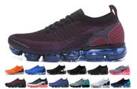 ingrosso pattini degli uomini di disegno di alto modo-Nike Vapormax air max airmax VENDITA 2018 2.0 VM New Air v2 Rainbow BE TRUE Oro Nero Rosa Donna Uomo Designer Scarpe da corsa Sneakers EUR Taglia 36-45