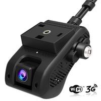 Wholesale dash camera india resale online - New JC200 EdgeCam Pro G Car DVR Dash Camra Car Camera With HD P Dual Camera GPS Tracker Remote Monitoring Live Streaming