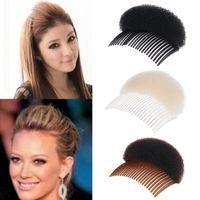 neue haare brötchenhersteller großhandel-Neue Frauen Dame Fashion Hair Styling Clip Kamm Bun Maker Braid Tool Neue Mode Kleidung, Schuhe Zubehör