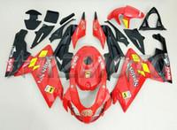 ingrosso aprilia rs-Nuovo kit carenatura completa per moto ABS adatto per Aprilia RS125 06 07 08 09 10 11 RS 125 2006 2011 Set carenature personalizzato Free rosso nero