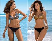 ternos grandes sexy venda por atacado-Designer Big plus grande Mulheres Bikini Define Swimwear cintura alta de três peças de banho Terno de natação natação desgaste desgaste flexível Sexy