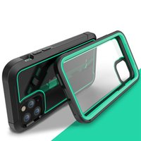 Wholesale drop proof phone online – custom Sturdy Shock Drop Proof Clear Phone Case For iPhone Pro Max S Plus XS Max XR X Shock Absorption Bumper Hybrid Cover