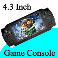 Wholesale Hot sales GB Inch Handheld Game Player MP3 MP4 MP5 Player Video FM Camera Portable Game Console