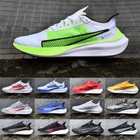 sapatos casuais venda por atacado-Recém-chegados Mens Zoom Pegasus 37 tênis Pegasus 36 Trail Turbo 2 prm ascensão Athletic Casual sapatos de grife Racers Formadores 40-45