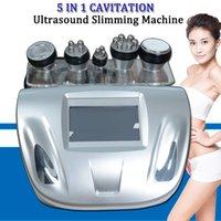 mejor cavitación ultrasónica al por mayor-Mejor cavitación máquina de la belleza de grasa se disuelva máquinas de cavitación ultrasónica cavitación endurecimiento de la piel del rostro rf equipo de adelgazamiento