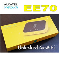 Wholesale alcatel 4g for sale - Group buy Unlocked G EE WIFI MINI CAT7 WIFI ROUTER Alcatel EE70 G Portable MIFI Hotspot