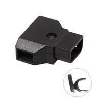 камеры с электроприводом оптовых-Камера настенный разъем адаптер питания мужской разъем конвертер Dtap P-Tap разъем для видеокамеры Rig кабель питания V-mount Anton DSLR камера зарядное устройство