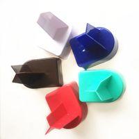 ingrosso supporto per chiodi in plastica-Bicchiere da spiaggia in plastica Portaoggetti Spike Drink Scaffali Sand Cup DHL Ocean Nail Form 5 colori Pure Color 6ftb1