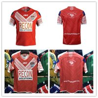 Wholesale rugby world cup resale online - TONGA RUGBY LEAGUE HOME JERSEY TONGA RUGBY TRAINING SINGLET TONGA RUGBY LEAGUE WORLD CUP HOME JERSEY size S XL XL