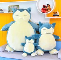 Wholesale 20cm doll resale online - Squirtle Plush Dolls inch Cute Snorlax Plush Doll Soft Stuff Toy Stuffed Animals For Baby Gifts Size cm cm cm