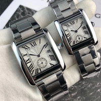 Wholesale brand watches roman numerals dial for sale - Group buy Lovers Luxury hot Couple Men Women Watches Top Brand Quartz movement small dial works Roman Numerals Dial Wristwatches Best Valentine Gift