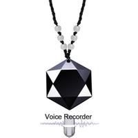 pluma de grabación de mp3 al por mayor-Mini profesional llavero Cuello collar de la correa digital activada grabadora de audio de sonido de voz pluma de la grabación del jugador de MP3 de 8 GB