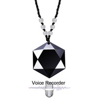 ses kayıt cihazı anahtarı toptan satış-Profesyonel Mini Anahtarlık Boyun Askısı Kolye Dijital Aktif Kaydedici Ses Ses Ses Kaydı Kalem MP3 Çalar 8 GB