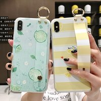tpu blume weichen silikon fall großhandel-Pfingstrosen-Blumen-Kästen für IPhone 11 Pro Max Cases XS Max XR Silikon-Halterung 6 7 8Plus Soft Shell-Armband-Telefon-Kasten