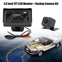 Wholesale wireless backup camera monitor kit for sale - Group buy Oversea Wireless Car Rear View Reversing Backup Camera Inch TFT LCD Monitor Kit Night Vision car accessories