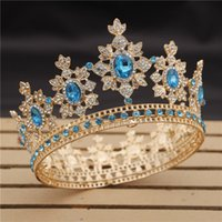 Wholesale king crystal for sale - Group buy Luxury Royal King Wedding Crown Bride tiaras and Crowns Queen Hair Jewelry Crystal Diadem Prom Headdress Head accessorie Pageant T200108