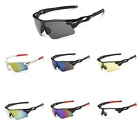 rückspiegelgläser großhandel-Outdoor-Sport Radfahren Brillen Unisex Winddicht Radfahren Sonnenbrillen Licht Regendicht Fahrrad Brillen UV400 Fahrrad Reitbrille