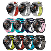 Wholesale sports watches for sale for sale - Group buy Silicone WatchBands for Samsung Galaxy Watch Band for Samsung Galaxy mm mm replacement Sports Watches wristStrap mm mm hot sale