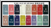 Wholesale iphone6 transparent case for sale - Simple for New iPhone Xs Max XR For Apple cover For iPhone6 Plus phone shell silicone soft shell scrub TPU candy colors