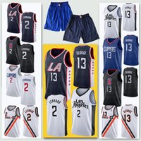 Wholesale popular jerseys for sale - Group buy Very popular Men Paul Leonard Cheap Jerseys Clipper George Embroidery Logos Jersey shorts Stitched Kawhi
