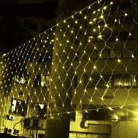 dekor ağı toptan satış-4.5 mx 1.5 m 300LED Net Mesh Peri web Dize Işık pırıltı lamba Aydınlatma Noel Noel Düğün Garland parti Dekoru 4 renk seçin