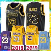 Wholesale polo jersey shirt for sale - 18 nEW LeBron James Basketball Jerseys Mens Los Angeles Luka Doncic DeAndre Ayton New Fashion Mens polo shirt
