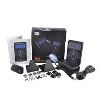 kasırga dövmesi tedarik toptan satış-Hurricane Dövme Güç Kaynağı Için HP-2 Siyah Dijital LCD Ekran Güç Supplly Dövme Makinesi Klip Kordon Dövme Seti Sıcak Satış