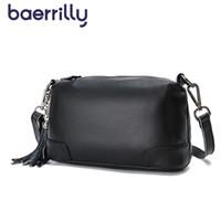 Wholesale fringe cross shoulder bag for sale - Group buy Fashion Satchel Bag Women Fringe Handbag Genuine Leather Crossbody Bag For Women Shoulder Bags Female Phone Pocket Bolsos Mujer