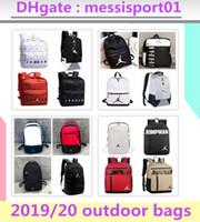 rucksäcke für frauen großhandel-neue Air Jordan Rucksack Taschen 2019/20 AJ neue Fußball AJ PSG PARIS Marke Taschen für Mann, Frau, Mädchen und Mode Freizeitsport Umhängetasche