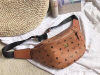 erkek deri bel çantaları toptan satış-Pembe Sugao bel çantası fannypack göğüs çantası baskı Mletter pu deri yüksek kalite erkekler ve kadınlar moda kemer bel çantası