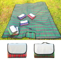 200cm*50cm Waterproof Folding Picnic Mat Outdoor Camping Moisture-proof Blanket Portable Hiking Beach Children Crawling Pad Mat