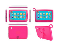 Wholesale New Arrival inch Q88 iWawa kids tablet PC parental control software and iWawa kids tablet with silicone stand case