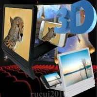 Wholesale folding smartphone stand for sale – best 3d screen magnifier phone d screen for smartphone for Video desk Holder magnifier Folding Enlarged Expander Stand